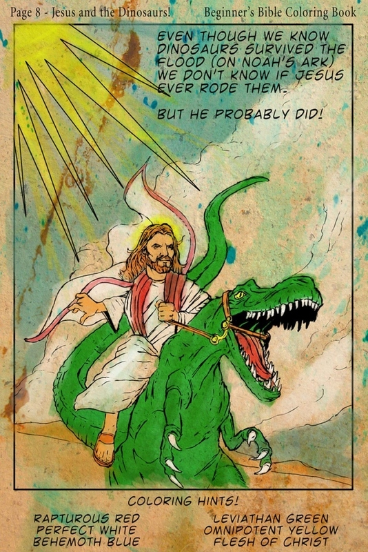 Jesus on a Raptor